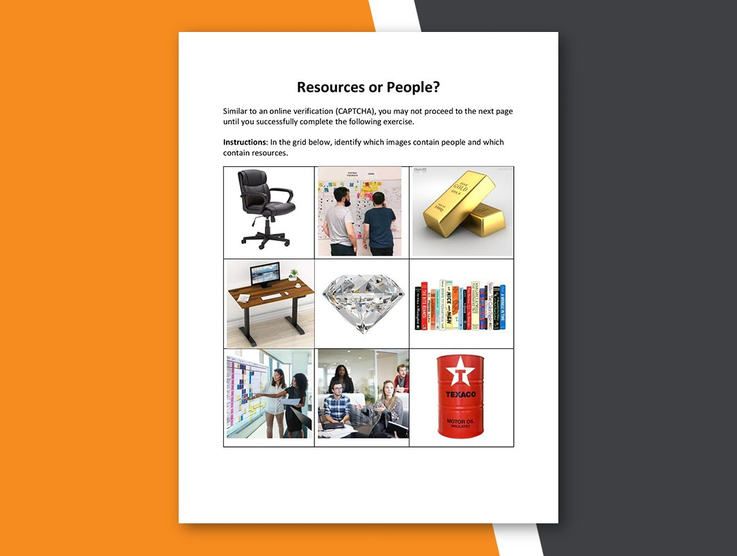 Resources or People Cover Image